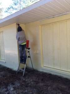 Painting the SW Health Clinic