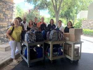SWAG and our partners are getting children ready for school!