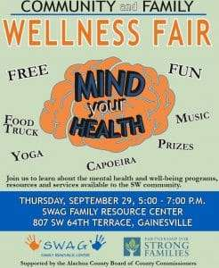 """Mind Your Health"" Fair at SWAG"