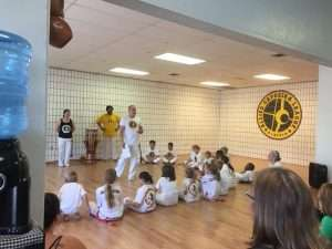 Celebrating our SWAG Kids' Capoeira Cords
