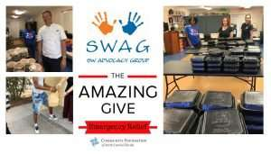 Opportunity to Contribute to SWAG Through the Community Foundation's Emergency Relief Platform