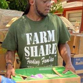 Thank You to Farm Share for Food Deliveries in Tower Oaks