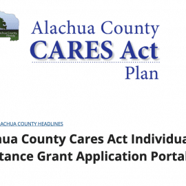Alachua County CARES Act Funding is Available
