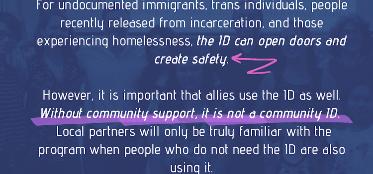 Community IDs by the Human Rights Coalition of Alachua County