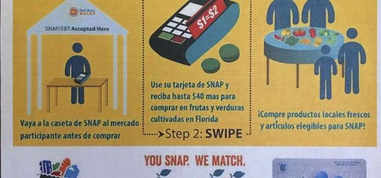 Double Your SNAP/EBT Benefits at Gainesville Farmers' Markets