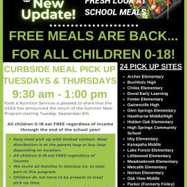 Free Meals for All Children Ages 0-18