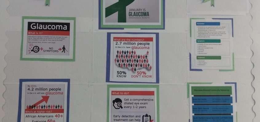 Glaucoma Awareness: January 2021 Community Bulletin Board