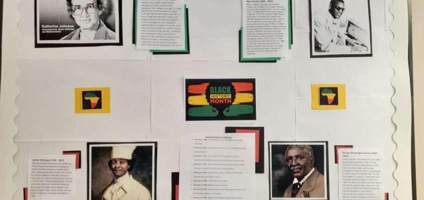 Black History Month: February 2021 Community Bulletin Board