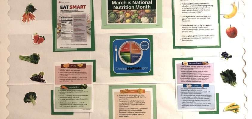 National Nutrition Month Community Bulletin Board