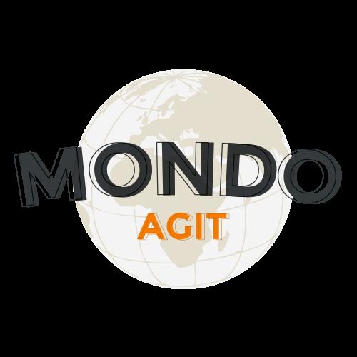 The logo for Mondo Agit, which directs the PerMondo project